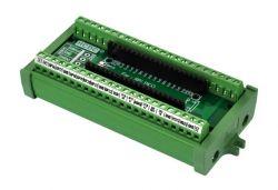 Moduły wyprowadzeń dla Raspberry Pi Pico z opcją montażu na szynie DIN