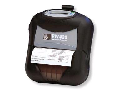 [Sprzedam] Drukarka mobilna Zebra RW420 z Bluetooth - tylko 2000 pln