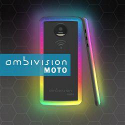 AmbiVision Moto: system kolorowych LED jako nakładka na Smartphone