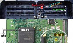 Sterowniki silnika - metody odczytu / BDM / BOOTMODE / RECOVERY - w skrócie.