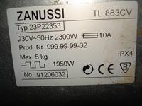 Zanussi TL883CV - Jaki zamiennik amortyzatorów do pralki TL883CV?