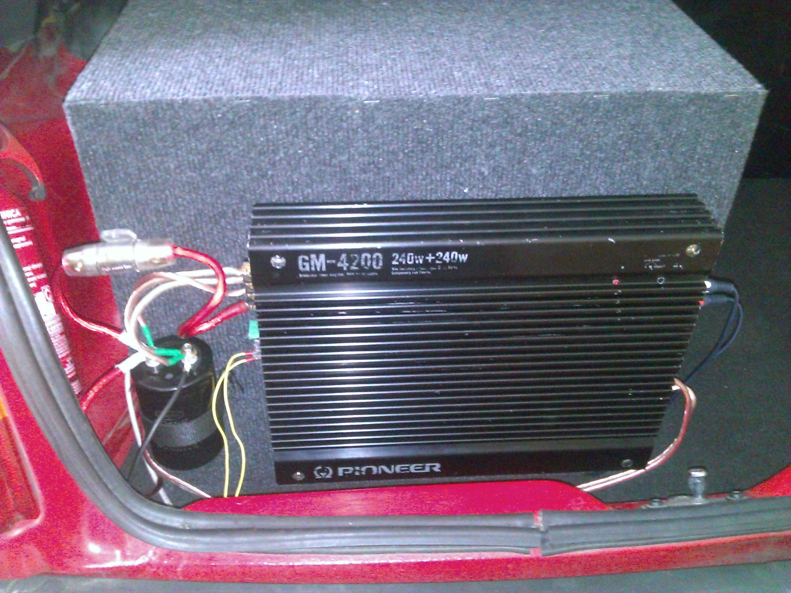 [Sprzedam] Pioneer GM- 4200 1x320W RMS 4OHm