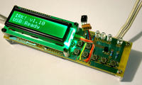 Klawiatura USB na podczerwie� bez sprz�towych klawiszy