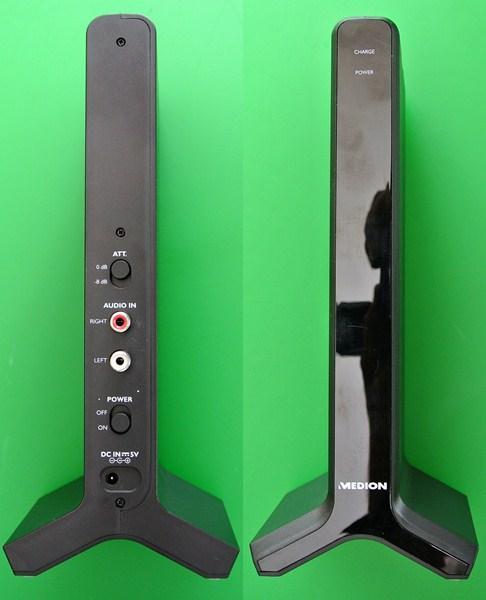 Medion E69288 s�uchaw - Stacj� nadaj�ca nie �aduje baterii i nie s�ycha� d�wi�ku