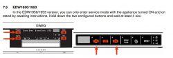 Zmywarka Electrolux ESL48900 - kalibracja hydrostat, błąd i40