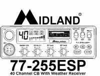 Midland 77-255OG CB Tranciever Manual EN