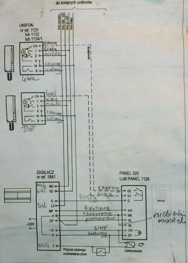 Brak Sygnału Wywołania Urmet 1132 525 2d 18a1 Elektroda Pl