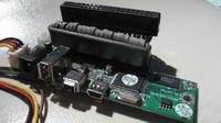 HDD 3.5' IDE + przej�ci�wka USB/FIRE-WIRE = Klops
