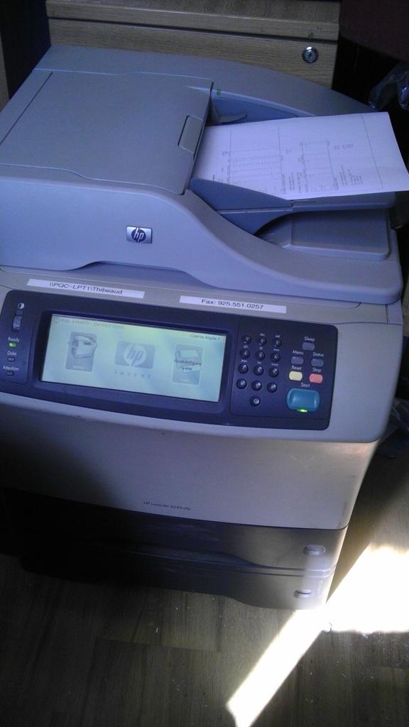 [Sprzedam] HP 4345 MFP + LANIER LD118(A3) 2 drukarki w cenie 1 - 799z�