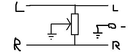 AVT2132- potencjometr balansu