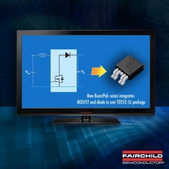Uk�ad scalony ��cz�cy MOSFET i diod� prostownicz�