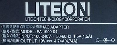 LiteOn model: PA-1900-04-brak napięcia na wyjściu po usunięciu zwarcia na wtyku?