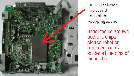 No Sound: HU-850