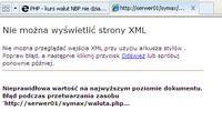 PHP - kurs walut NBP nie działa