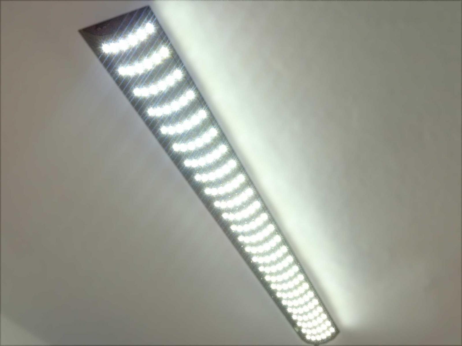 Oświetlenie Led Na Bazie Klosza Lampy Jarzeniowej