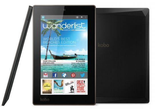"Kobo Arc 7HD - tablet z 7"" ekranem Full HD i Tegra 3 za 200 dolar�w"