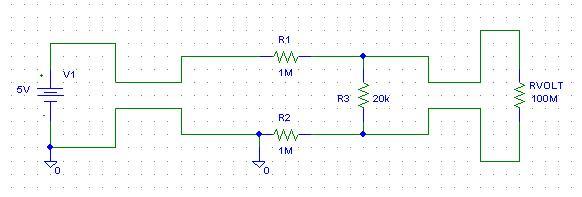 PAN.PM129A1  - Woltomierz panelowy - nieco dziwe wskazanie