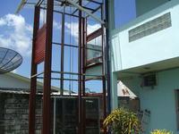 Domowa winda z wyciągarki - Wykonanie sterowania