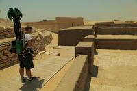 Zabytki cywilizacji staro�ytnego Egiptu w Google Street View
