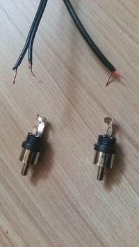 Głośniki komputerowe 2n1, urwane cinche + lutowanie