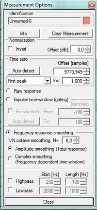 Pomiary charakterystyk monitorów DIY STX HolmImpulse