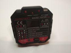 HT106D - Tester gniazd elektrycznych