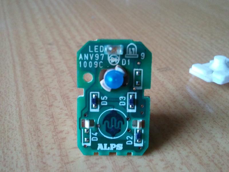 Sterowanie silniczkiem elektrycznym za pomoc� 1 przycisku