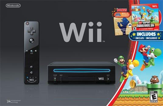 Zestaw z konsol� Wii w czarnym kolorze dost�pny od przysz�ego tygodnia