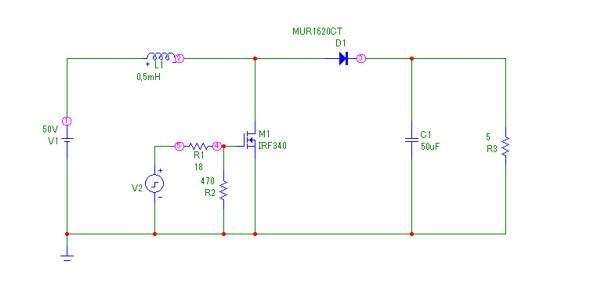 Przetwornica  - Dob�r diody do przetwornicy podwy�szaj�cej napi�cie