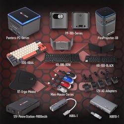 Mini-komputer Tiny Gemini Lake z obsługą system operacyjnego Linux