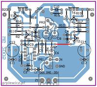 Wzmacniacz 5.1 na tranzystorach MOSFET