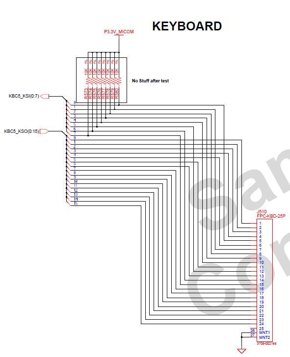 Samsung R525 - Niew�a�ciwie dzia�aj�ca klawiatura