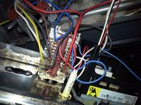 Termostat Mastercook KGE3455 nie włacza grzałek piekarnika