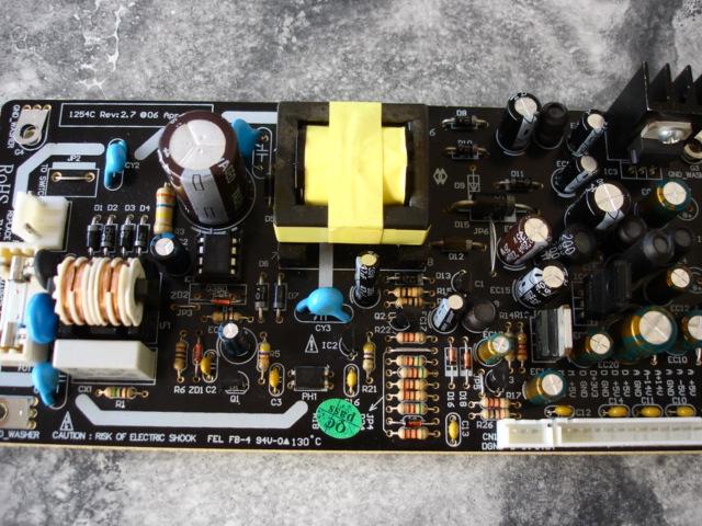 Harman Kardon HD980 - uszkodzony zasilacz