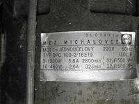 Projekt szlifierki z silnikiem od pralki (2760/425obr./ 65/45W)