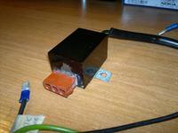 Odkurzacz Karcher Puzzi S spalona(uszkodzona) część zasilająca pompę