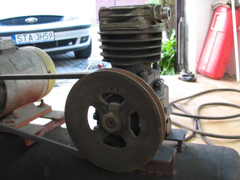 Identyfikacja spr�arki i silnika w kompresorze