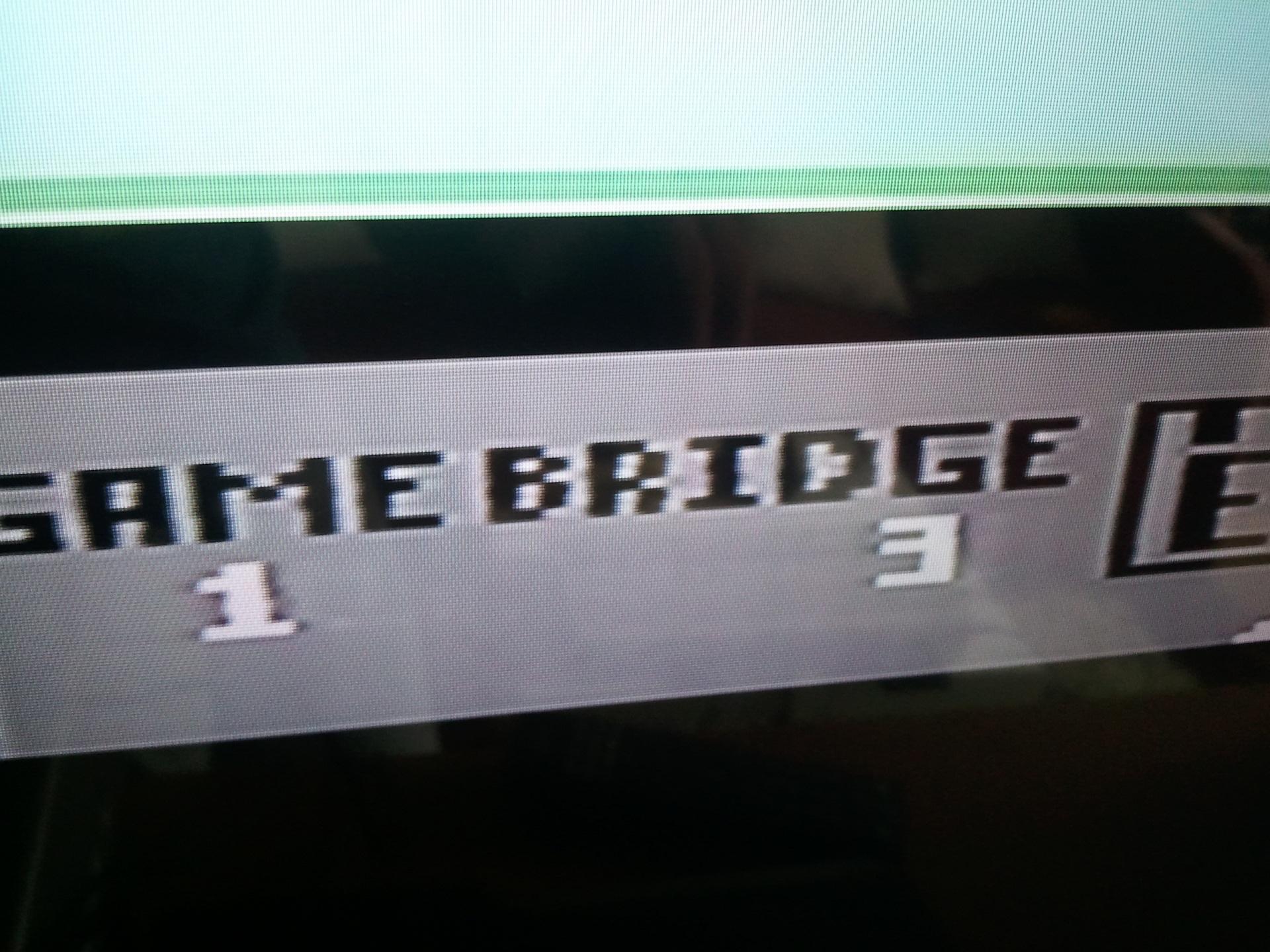 Obraz z Commodore 64 po kablu EURO/SCART