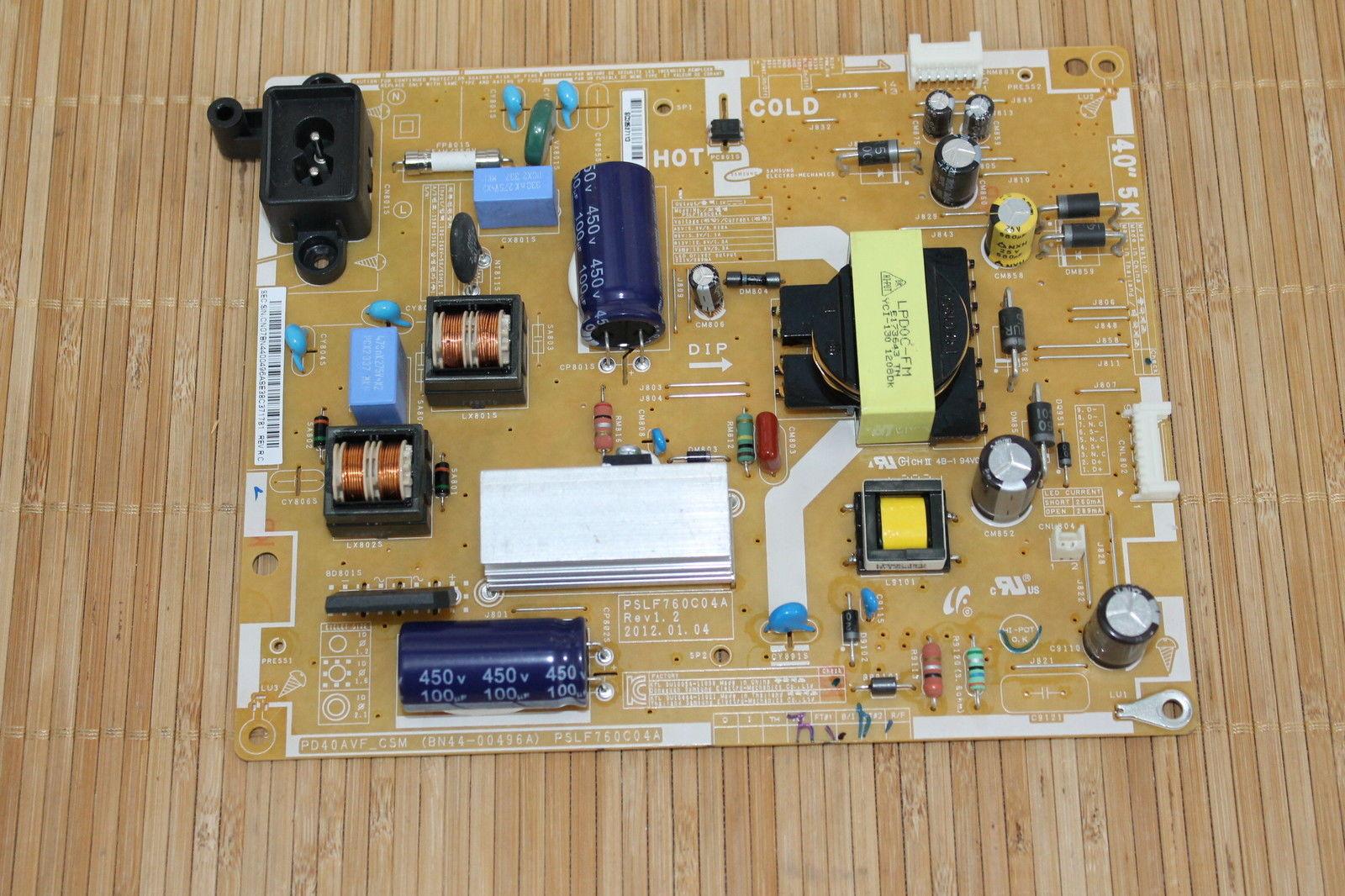 Samsung UE40EH5000 - Nie wl�cza sie, dioda nie �wieci