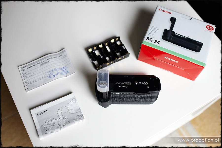 [Sprzedam] Canon Battery Grip BG-E4 do Canon EOS 5D
