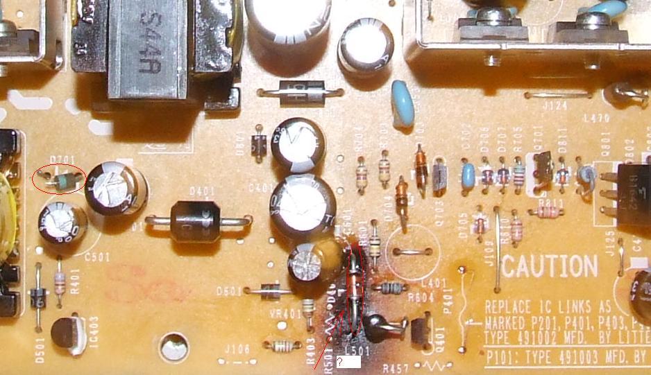 DVD Pioneer DVR-510 - problem z zasilaczem