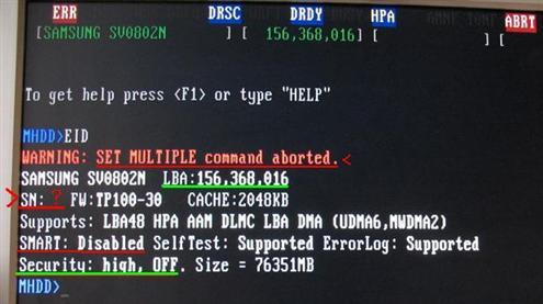 [Samsung SV0802N] Nie pracuje tylko w PC?