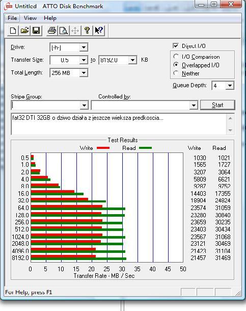 DT150 32GB +powrót do ustawień fabrycznych