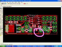 Miernik do zasilacza na HD44780 i ATtiny13