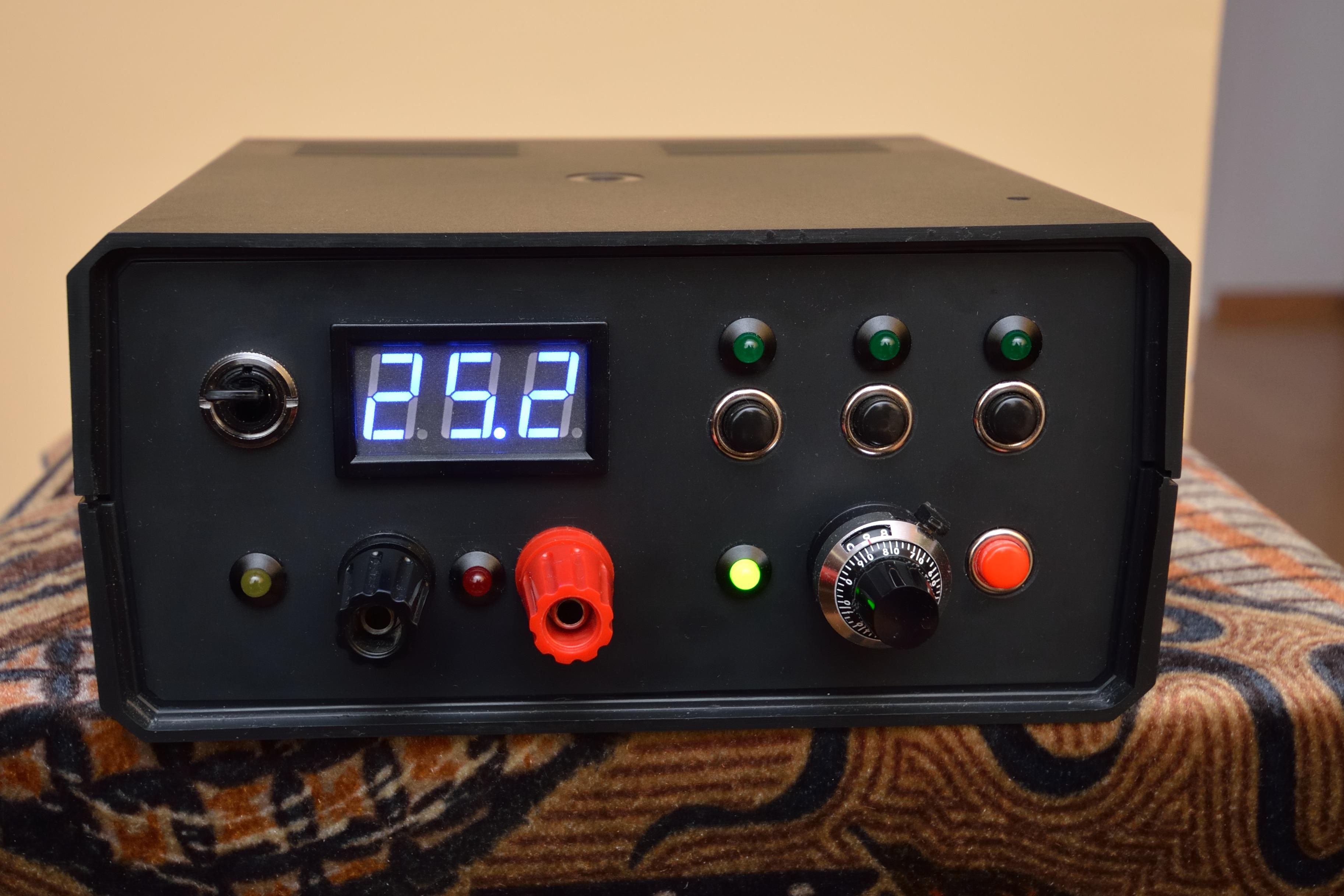 Zasilacz na LM350 z predefiniowanymi napi�ciami