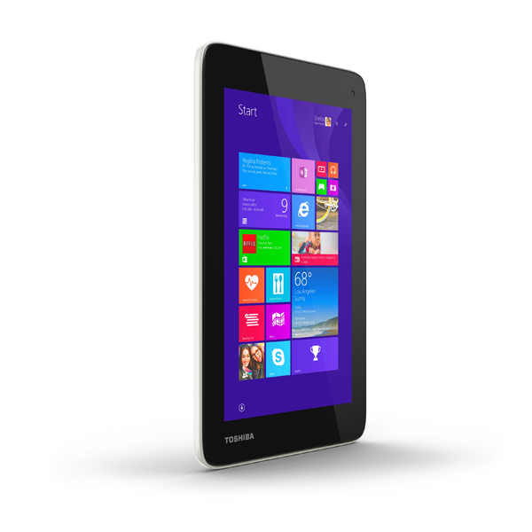 "Toshiba Encore Mini 7 - 7"" tablet z 4-rdz. Atom, Windows 8, Office za 400z�"