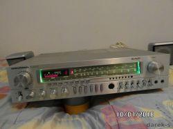 Amplituner Grundig R2000 - uszkodzona prawa końcówka mocy, L - sprawna