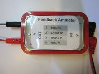 Przystawka do multimetru do pomiaru małych prądów