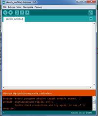 Arduino IDE i atmega 328 - problem z komunikacja arduino IDE i atmega328