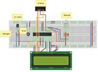 Termometr cyfrowy (atmega8 i DS18B20) i dioda RGB - rozwi�zany